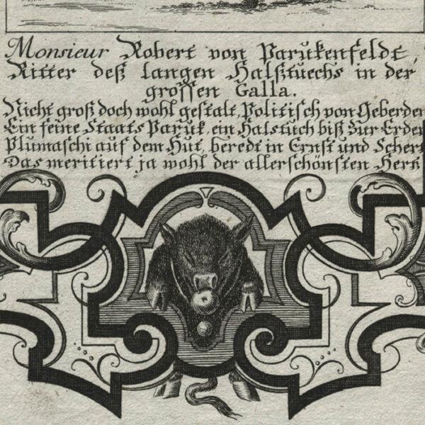 Il Callotto, Plate 18, detail
