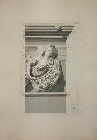 Chapter 3, Plate 5, Apeliotes from the Tower of the Winds.