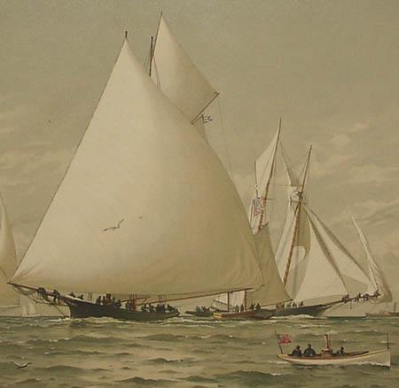 In Down East Waters, detail