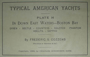 In Down East Waters, label
