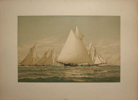 In Down East Waters -- Boston Bay: Syren, Beetle, Countess, Halcyon, Phantom, Adelita, Sappho