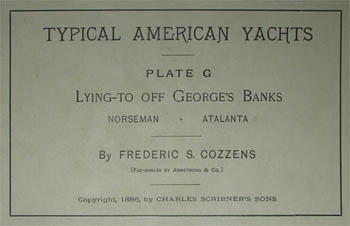 Lying-To Off George's Banks, label