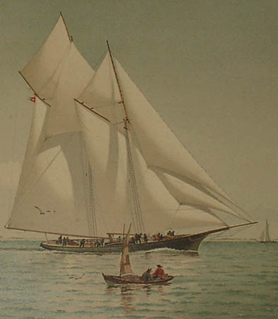 A Stern Chase and a Long One, detail