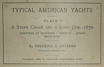 A Stern Chase and a Long One, label