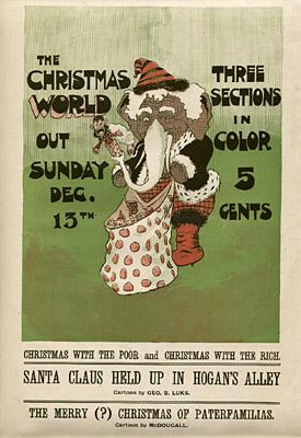 December 13, 1896 Sunday World Poster