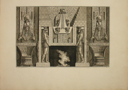 Chimneypiece in the Egyptian Style
