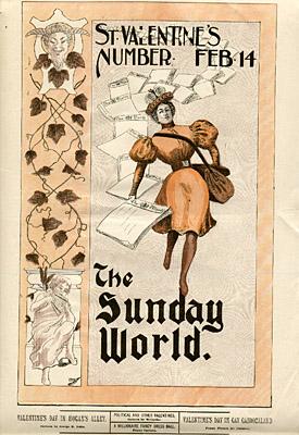 February 14, 1897 Sunday World Poster