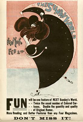 February 2, 1896 Sunday World Poster