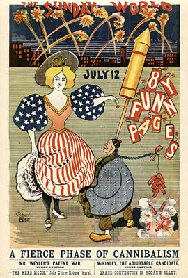 July 12, 1896 Sunday World Poster