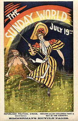 July 19, 1896 Sunday World Poster