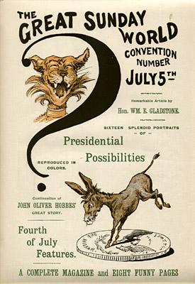 July 5, 1896 Sunday World Poster