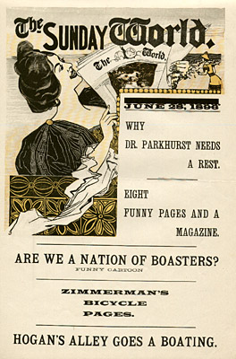 June 28, 1896 Sunday World Poster