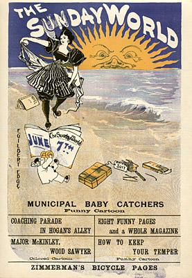 June 7, 1896 Sunday World Poster