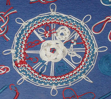 Maritime Knot Boards, Macramé, and Embroideries