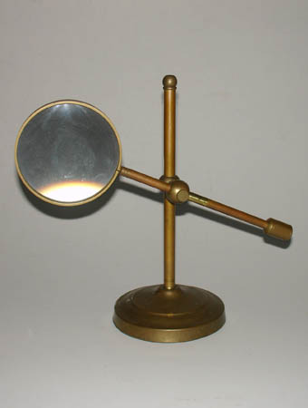 4-Inch Magnifier on Brass Stand