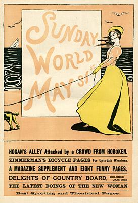 May 31, 1896 Sunday World Poster