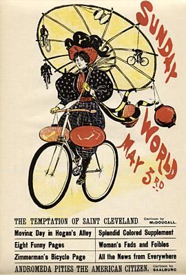 May 3, 1896 Sunday World Poster