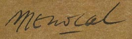 Example of artist's signature