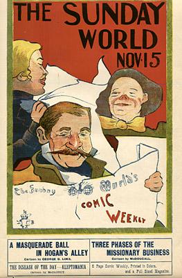 November 15, 1896 Sunday World Poster