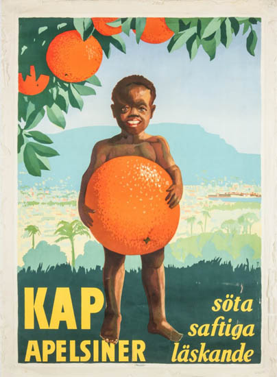 Kap Apelsiner söta saftiga läskande [Cape Oranges: sweet, juicy, refreshing]