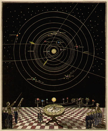 Smith's Illustrated Astronomy [Orrery]