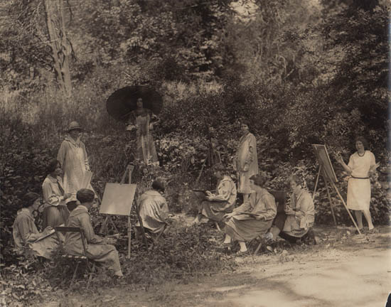 The Martinet Summer School of Out-door Painting Fourteenth Season, 1925.