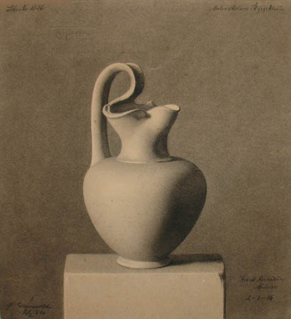 Still Life of Pitcher (1886)