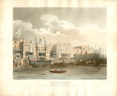 Custom House, From the River Thames