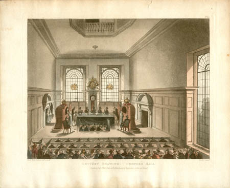 Lottery Drawing: Coopers Hall