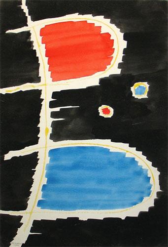Semiatin painting dated November 23, 1982