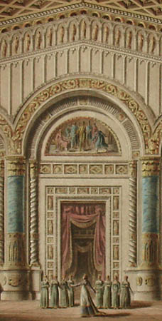 Opera and Ballet Set Designs for the Theater at La Scala