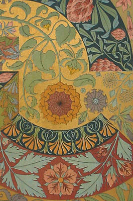 Art Nouveau Designs with Plant Motifs