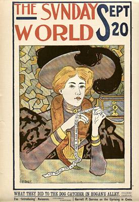 September 20, 1896 Sunday World Poster