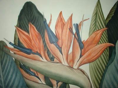 The Queen Flower, detail.