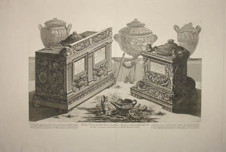 Cinerary Urns and Lamps