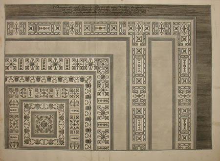 Part of a Stucco Vault from Hadrian's Villa, Tivoli