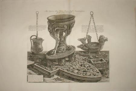 Tripod Vase from Hadrian's Villa