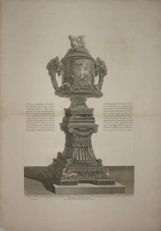 Cinerary Urn with Pedestal