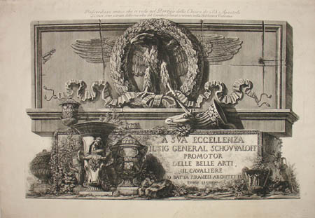 Capriccio of Classical Artifacts - Title Page to Volume II