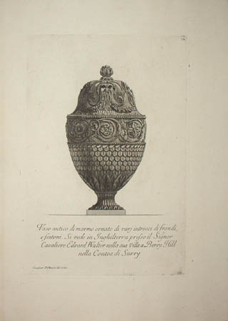 Vase with Classical Masks on Lid