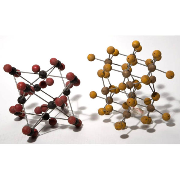 Iron Sulfide Molecule Model with Another Model