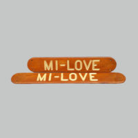 Mi-Love boat signs