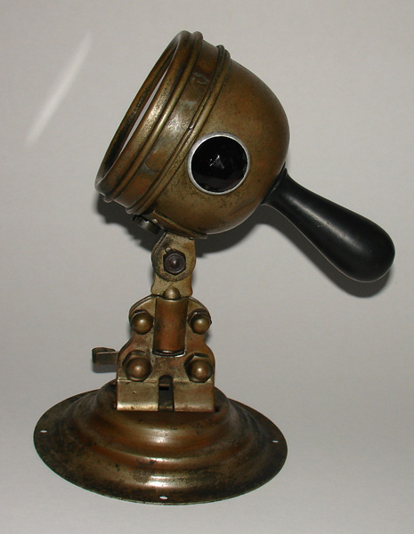Old Sol Brass Lamp