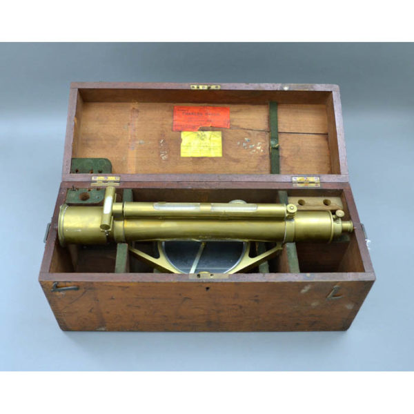 William Ford Stanley Surveyor's Level with Box