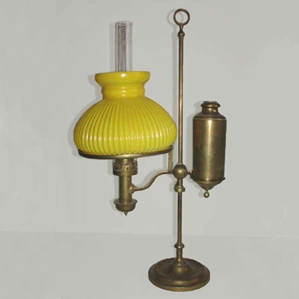 Victorian Kerosene Student Lamp