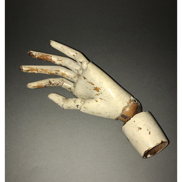 Wooden Mannequin Articulated Model Hand
