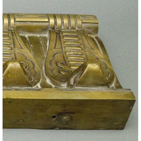 Cobra Molding, Art Deco, detail