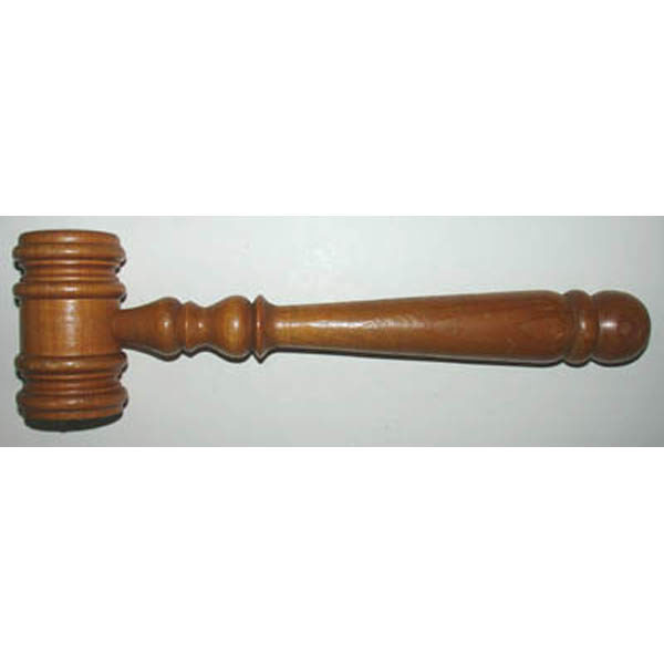 B&O Railroad Camden Station Relic Gavel