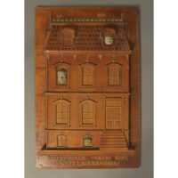 House Facade Artwork Plaque