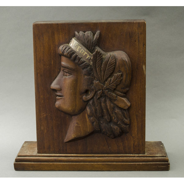 Lady Liberty wood plaque
